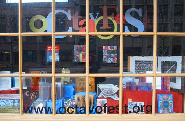 Octavofest Window at the Statler Arms